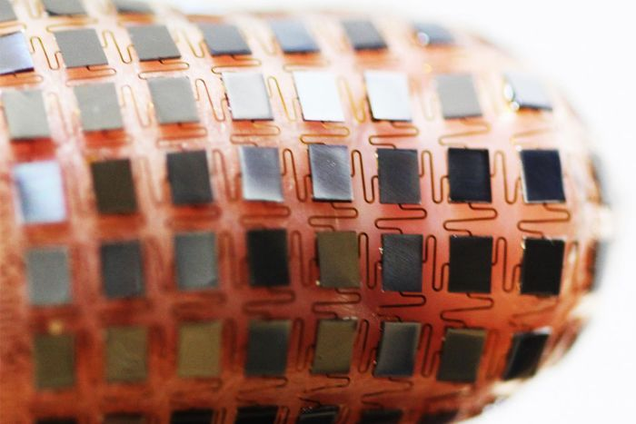 Solar-powered stretchable battery developed