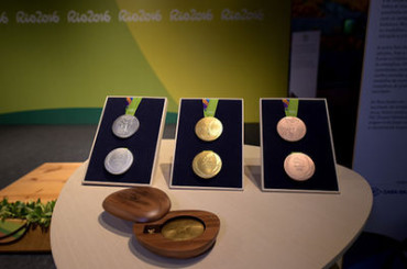 Medals for Rio Olympics 2016 unveiled