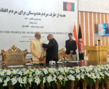 PM Modi awarded Afghan's highest civilian honour