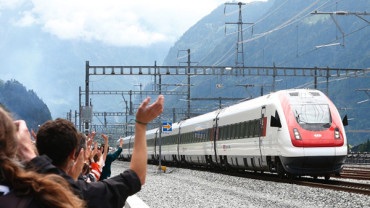 The world's longest and deepest rail tunnel opens in Switzerland