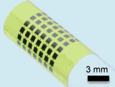 Ultra-flexible solar cells