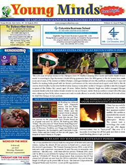 Young Minds, Volume-IX, Issue-8