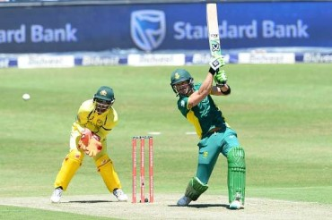 Du Plessis 1st to score century in all formats at same venue