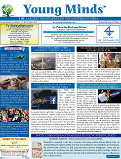 Young Minds, Volume-IX, Issue-16