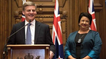 Bill English appointed New Zealand's new PM