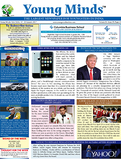 Young Minds, Volume-IX, Issue-29