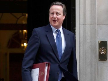 Ex-UK PM David Cameron may be appointed NATO chief
