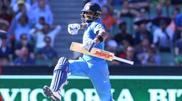 Kohli has scored hundreds in all of India's 350+ run chases