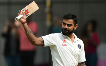 Kohli equals record for most Test 150s by an Indian captain