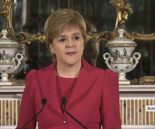 Scottish leader announces 2nd independence referendum plan