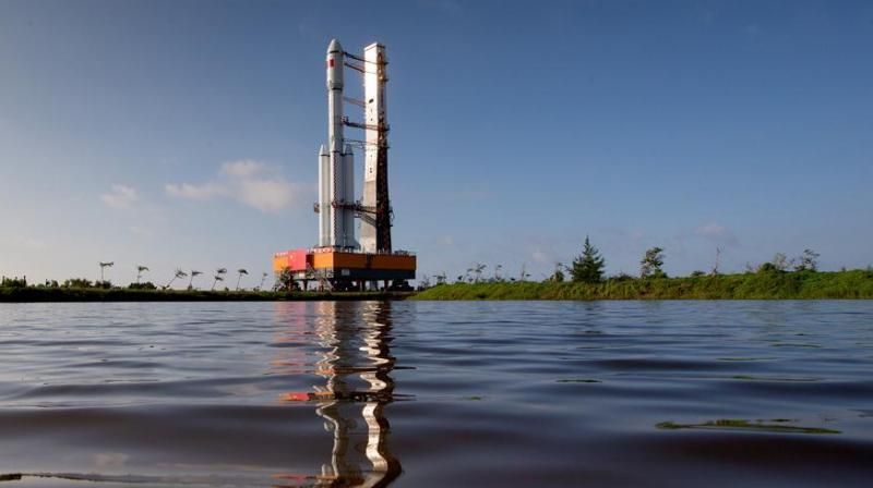 China launches its first-ever unmanned cargo spacecraft