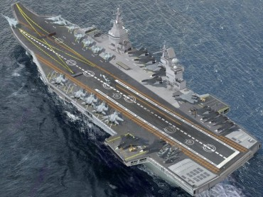 Russia plans to build the 'world's largest aircraft carrier' the size of three football fields