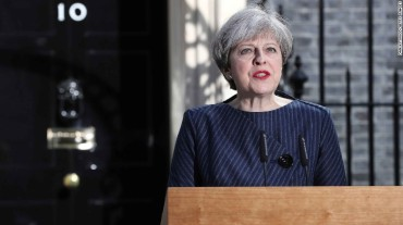 UK PM Theresa May calls for early elections