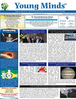 Young Minds, Volume-IX, Issue-42