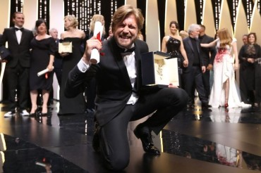 'The Square' wins top award at Cannes Film Festival 2017