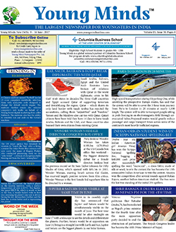 Young Minds, Volume-IX, Issue-50