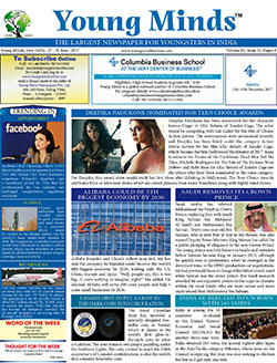 Young Minds, Volume-IX, Issue-52