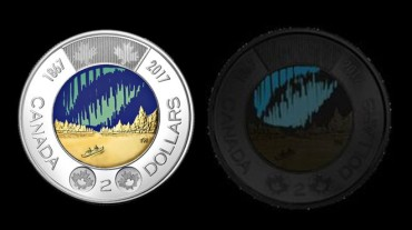 Canada first to put a glow-in-the-dark coin into circulation