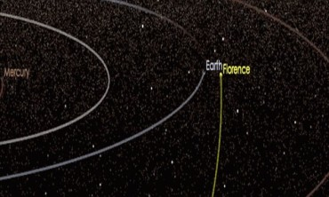 A THREE MILE wide asteroid is set to graze past Earth on Sept 1