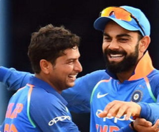 Kuldeep becomes the first Indian spinner to take ODI hat-trick