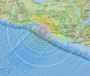 Magnitude 8.1 quake hits Mexico, tsunami alert in 7 nations
