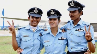 First 3 women fighter pilots to be commissioned in December