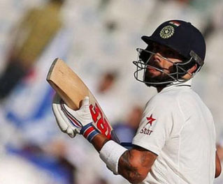 Kohli records joint-most ducks by an India captain in a year