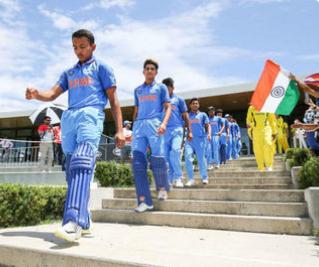 India first team to score 300+ against Australia in U-19 WC