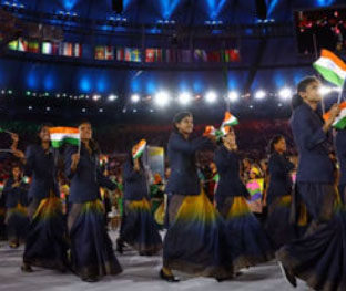 Indian athletes to not wear sarees at CWG opening ceremony