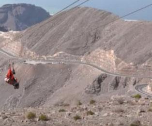 UAE opens longest zip line