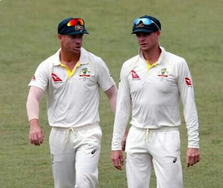 Smith, Warner banned from playing for Australia for 1 year