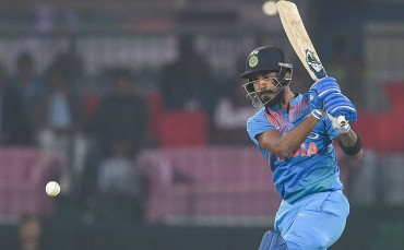 Lokesh Rahul first Indian to be out hit-wicket in a T20I