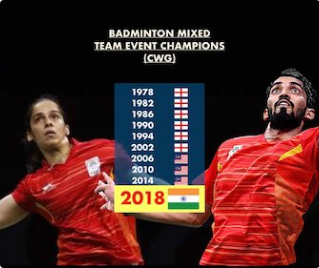 India win badminton team gold for 1st time in CWG history