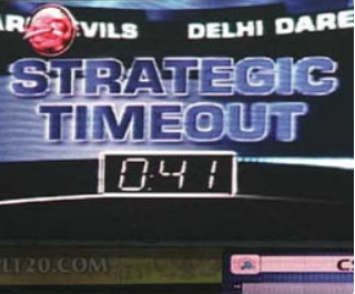 Umpires to use new signal for strategic time-out during IPL