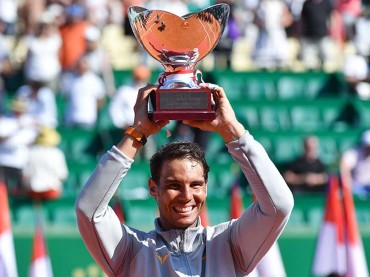 World no. 1 Nadal 1st man to win the same title 11 times