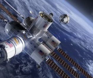 The world's first hotel in space