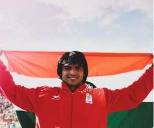 20-yr-old Neeraj gives India 1st javelin gold in Asiad history