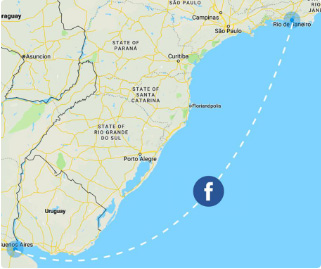 Facebook building 2,500km subsea internet cable to Argentina