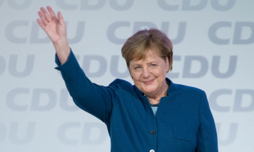 Germany's conservatives say goodbye to Angela Merkel