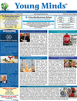 Young Minds, Volume-XI, Issue-28