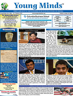 Young Minds, Volume-XI, Issue-30