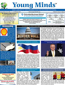 Young Minds, Volume-XI, Issue-34