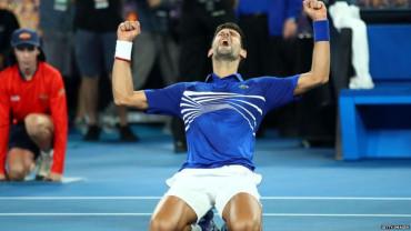 Novak Djokovic wins seventh Australian Open