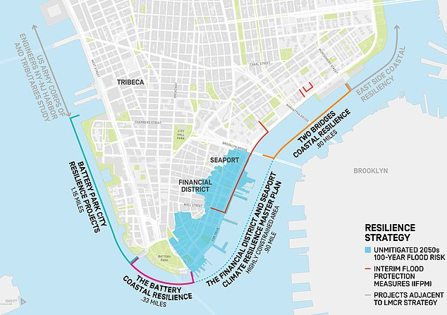 $10 BILLION plan to save Manhattan from rising sea levels