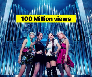 'Kill This Love' music video fastest to reach 100mn views on YouTube