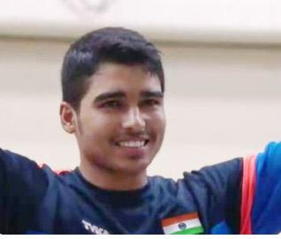 Shooter Saurabh breaks own world record