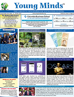 Young Minds, Volume-XI, Issue-52