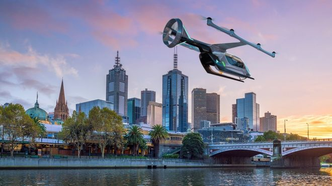 Uber takes its flying taxi ambitions to Australia