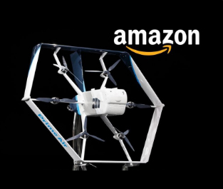 Amazon unveils drone to carry out 30-minute deliveries 'soon'