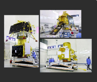 ISRO releases 1st pics of Chandrayaan-2, Pragyan rover ahead of launch